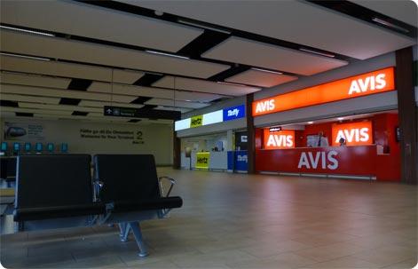Dublin Airport aluguer de carros