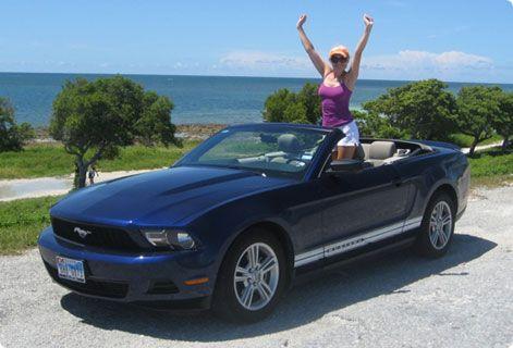 Ford Mustang Aluguer Descapotavel Roadtrip Viagem Por